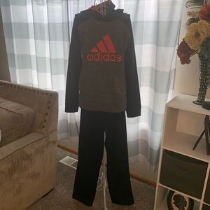 Adidas Hoodie/Pant Outfit - YL/XL